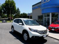 2014 Honda Certified CR-V EX AWD, Sunroof, Bluetooth