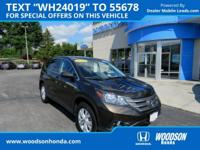 2014 CR-V EX Honda Certified and AWD. Like new. Low