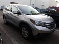 CARFAX One-Owner. Clean CARFAX. Silver 2014 Honda CR-V