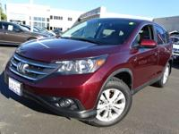 Options:  2014 Honda Cr-V Ex|Red|Move Quickly! Perfect