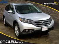 2014 Honda CR-V Alabaster Silver Metallic Accident Free