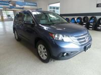 CARFAX One-Owner. Clean CARFAX. Blue 2014 Honda CR-V