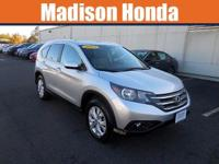 2014 HONDA CR-V EX-L New Price! CARFAX One-Owner. Clean