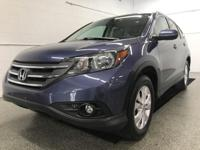 Options:  2014 Honda Cr-V Ex-L|Blue|Sunroof /