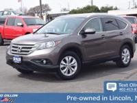 Tried-and-true, this 2014 Honda CR-V EX-L lets you cart