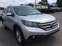 Silver 2014 Honda CR-V EX-L AWD 5-Speed Automatic 2.4L