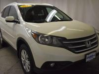 White 2014 Honda CR-V EX-L AWD 5-Speed Automatic 2.4L
