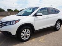 CR-V EX-L, AWD, Diamond White Pearl, and Beige