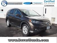 Carfax 1 Owner! Accident Free! 2014 Honda CR-V EX-L,