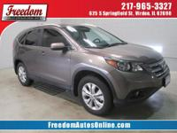 This trusty 2014 Honda CR-V 5DR AWD EX-L with its