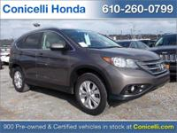 This 2014 Honda CR-V EX-L is priced to sell. A ton of