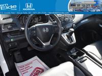Honda CERTIFIED!! Great MPG: 30 MPG Hwy!!! All Wheel