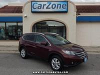 2014 HONDA CRV EXL - All Wheel Drive - Basque Red Pearl