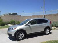 Climb into this superb one-owner Honda CR-V and you