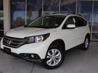 HONDA CERTIFIED WARRANTY APPLIES!!!!!, CR-V EX-L, AWD.