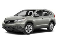 2014 Honda CR-V EX-L AWD. Leather and heated seats,
