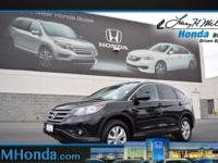 Snag a bargain on this certified 2014 Honda CR-V EX-L