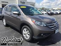Recent Arrival! 2014 Honda CR-V in Brown, AUX