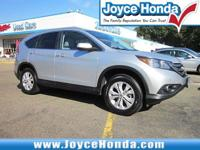 New Price! 2014 Honda CR-V EX-LOdometer is 18680 miles