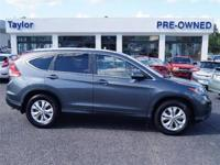 CARFAX 1-Owner! This 2014 Honda Cr-V EX-L, has a great