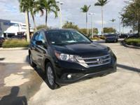 2014 Honda CR-V EX-L in Black. Gently used. Like