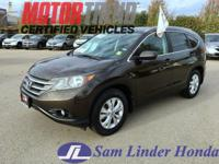 Options:  2014 Honda Cr-V Exl|Advertised Price Expires
