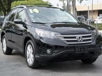 Options:  2014 Honda Cr-V Ex-L|Crystal Black