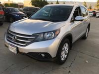 Options:  2014 Honda Cr-V Ex-L|Silver|Automatic|2.4L