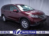 Very nice 2014 Honda CR-V EX-L. Moonroof, Leather