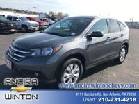 This used Honda CR-V EX-L is now for sale in San