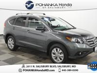 **CarFax One Owner** and Navigation. CR-V EX-L NAV