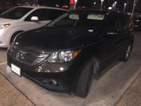 Recent Arrival! 2014 Honda CR-V EX-L Sunroof, Leather &