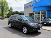 ONE OWNER HONDA CERTIFIED, 2014 CR-V EX-L, SUNROOF,