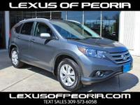 Options:  2014 Honda Cr-V Ex-L|Carfax One-Owner. Clean