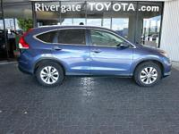 PREMIUM & KEY FEATURES ON THIS 2014 Honda CR-V include,