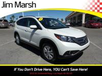 Introducing the 2014 Honda CR-V! Worthy equipment and