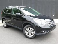 **2014 HONDA CR-V EX-L**VERY LOW MILES!!**BLACK LEATHER