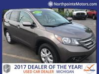 2014 Honda CR-V EX-L CARFAX One-Owner. Clean CARFAX.