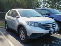 Recent Arrival! Clean CARFAX. This 2014 Honda CR-V LX