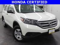 New Price! *HONDA FACTORY CERTIFIED!*, *ONE OWNER*,