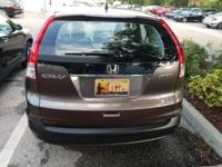 Clean CARFAX. Gray 2014 Honda CR-V LX AWD 5-Speed