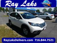 CARFAX 1-Owner. White Diamond Pearl exterior and Gray