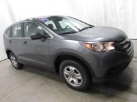 2014 Honda CR-V LX in Grey... AWD. STOP! Read this!