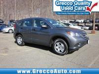 2014 Honda CR-V LX  30/22 Highway/City MPG**  Awards: *