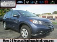 """CLEAN, AFFORDABLE HONDA SUV AWD!! HERE IS A VERY"