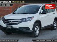 This 2014 Honda CR-V 4dr AWD 5dr LX features a 2.4L 4