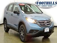 One Owner AutoCheck. AWD. Get Hooked On Foothills