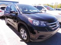 Come see this 2014 Honda CR-V LX. Its Automatic