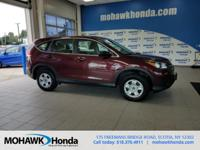 Recent Arrival! This 2014 Honda CR-V LX in Basque Red