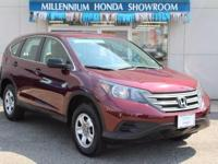 This Honda Certified CR-V AWD 5dr LX is Priced Below